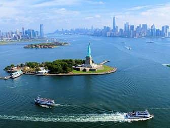 Helikopter-Rundflug ohne Türen in New York - Freiheitsstatue