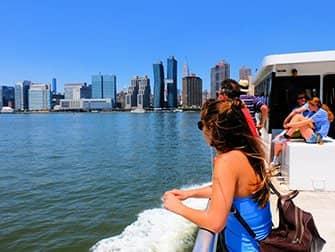 NYC Ferry in New York - Fahrt mit der Fähre