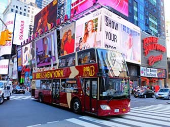 Unterschied zwischen New York Explorer Pass und New York Pass - Hop on Hop off Bus