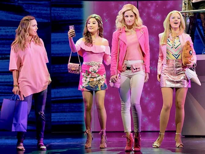 Mean Girls am Broadway Tickets - die Mädchen