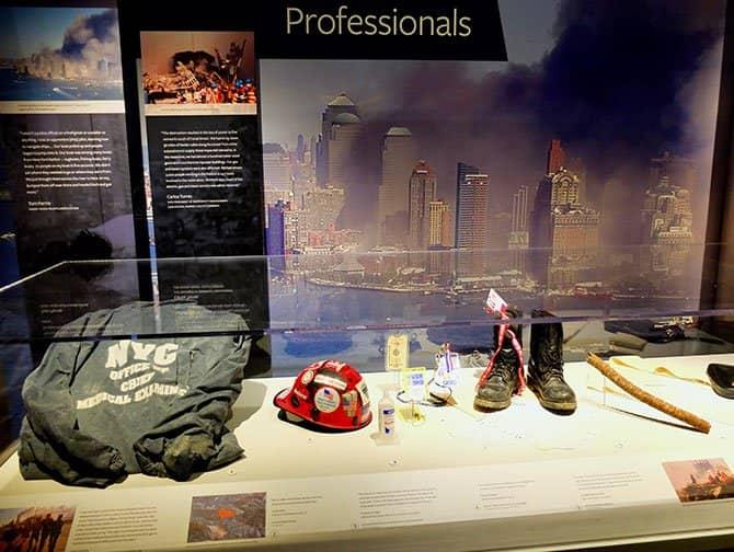 9/11 Tribute Museum in New York - Artefakte