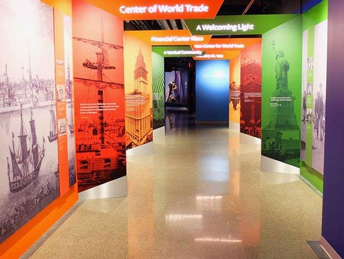 9/11 Tribute Museum in New York - Geschichte