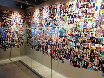 9/11 Tribute Museum in New York - Bilderwand