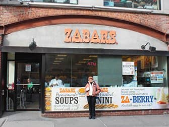 Klassische Filmtour in New York - Zabar's