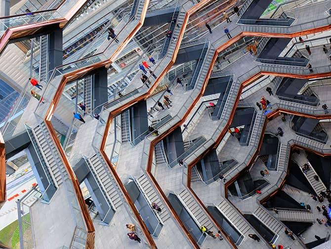 Hudson Yards Vessel in New York - Vessel Struktur