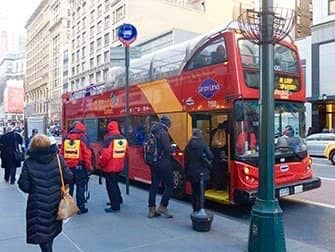 New York Sightseeing Flex Pass - Hop on Hop off Bus