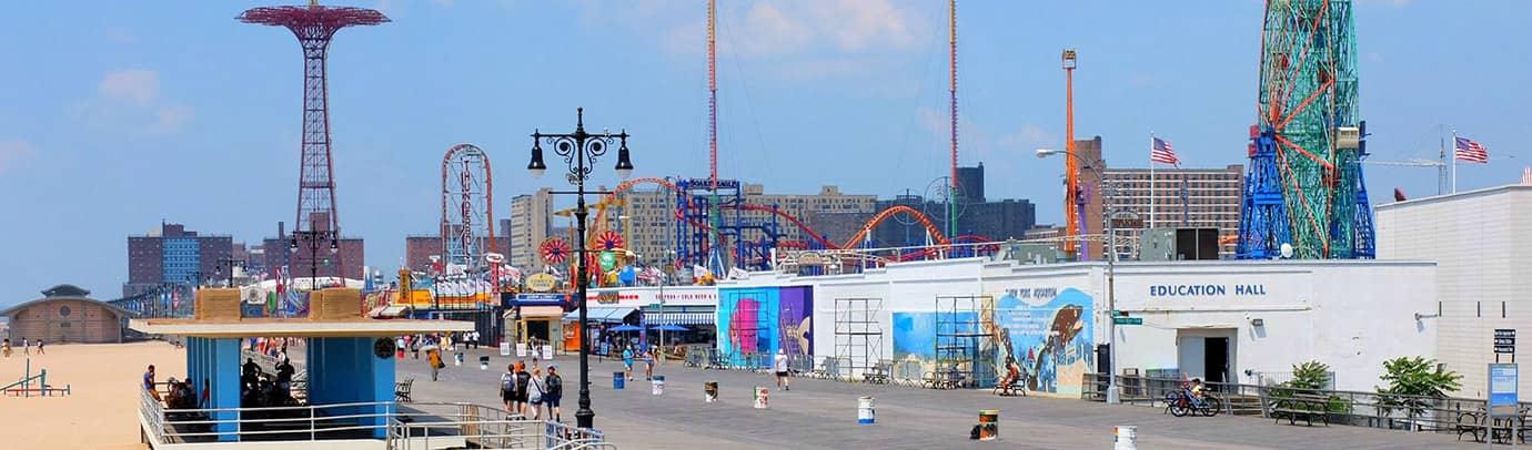 Sommer in der Stadt: Coney Island