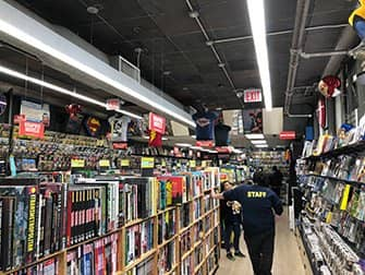 Superhelden Tour in New York - Comic-Book Store