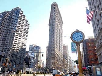 Superhelden Tour in New York - Flatiron Building