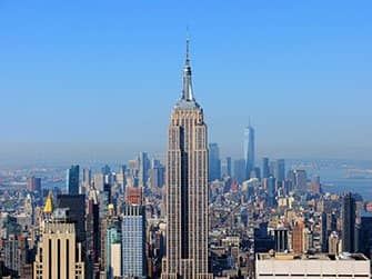 Unterschied zwischen New York Sightseeing Flex Pass und New York Explorer Pass - Empire State Building