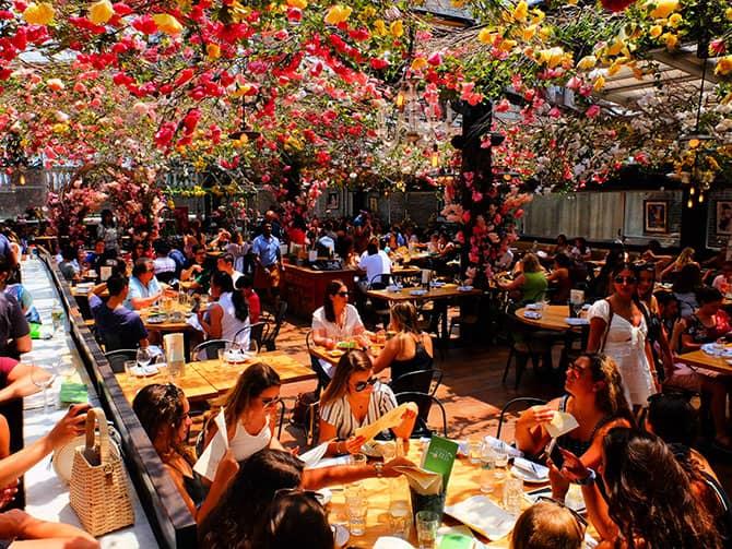 Restaurants in New York - Birreria Rooftop Terrasse