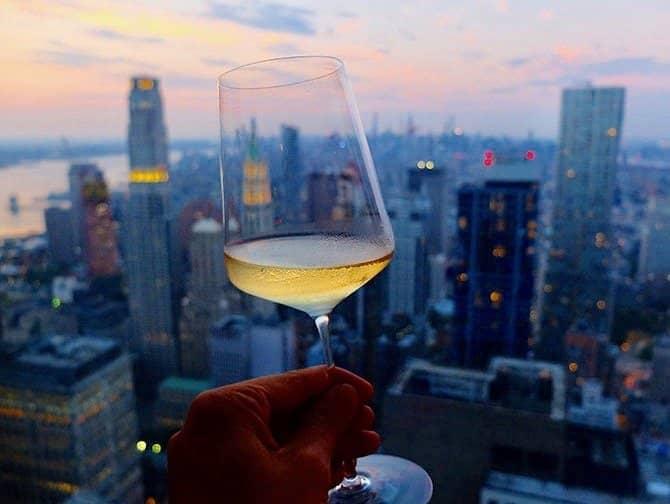 Restaurants in New York - Wein bei Manhatta