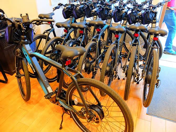 Elektrische Fahrradtour in New York - E-Bikes