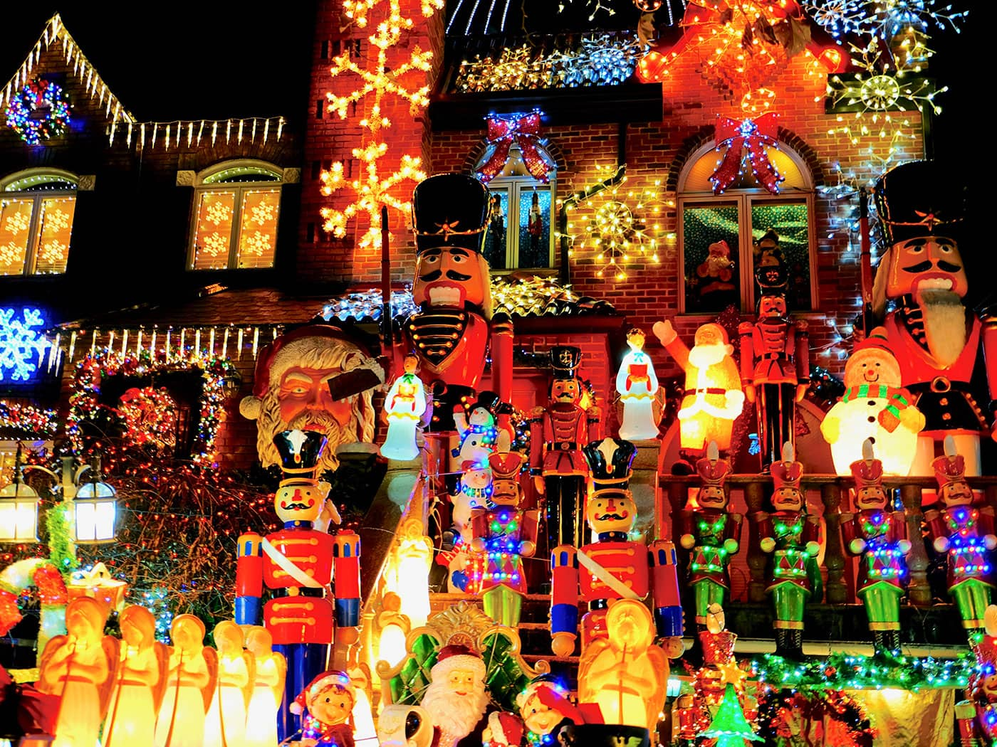 Dyker Heights Christmas Lights - Figuren