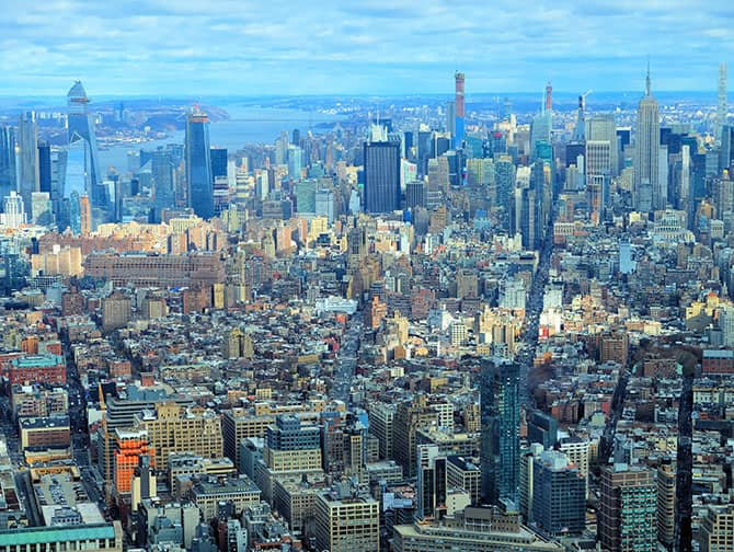 New York Sightseeing Day Pass - One World Observatory Aussicht