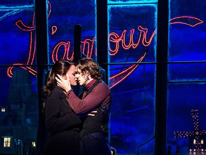 Moulin Rouge! The Musical am Broadway Tickets - L'amour