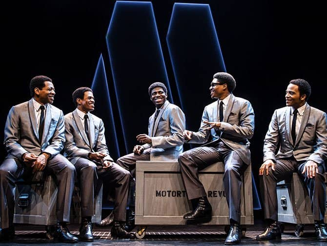 Ain't Too Proud: The Life and Times of the Temptations am Broadway Tickets - Die Gruppe