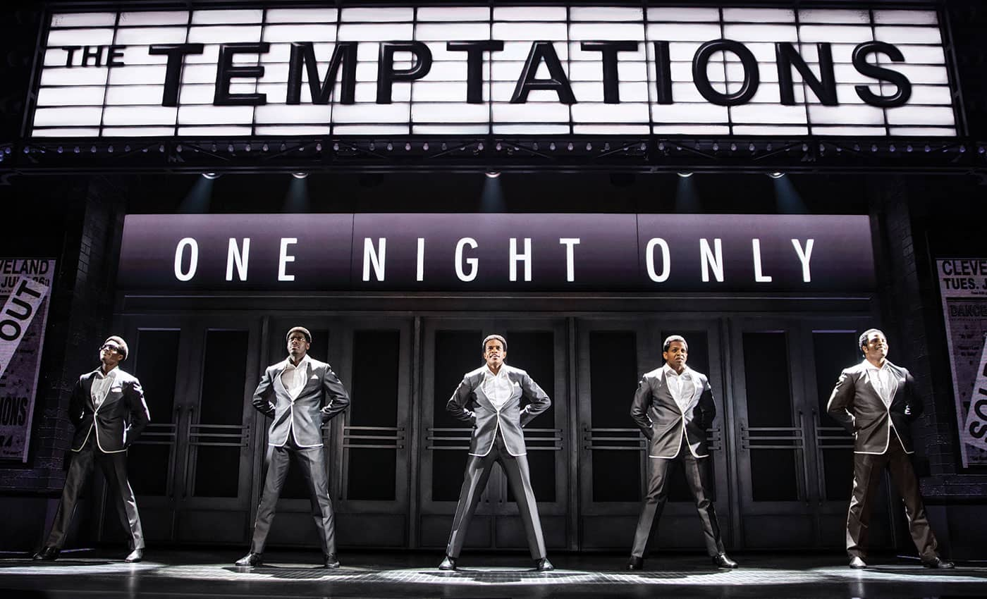 Ain't Too Proud: The Life and Times of the Temptations am Broadway Tickets - Konzert