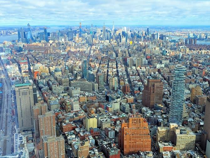 Unterschied zwischen New York Sightseeing Flex Pass und Sightseeing Day Pass - One World Observatory