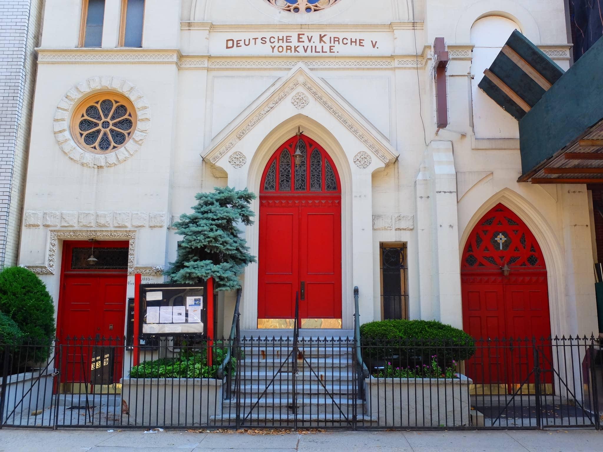 Little Germany in New York - Deutsche Evangelische Kirche von Yorkville
