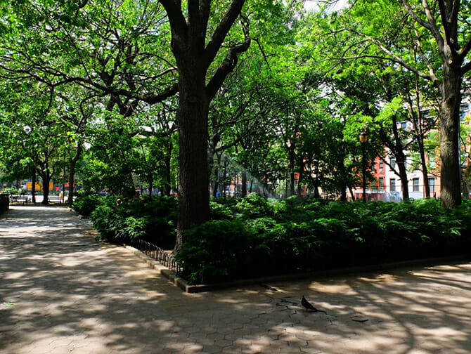 Little Germany in New York - Tompkins Square Park