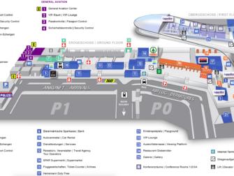 Flug Graz - New York City - Karte Flughafen Graz