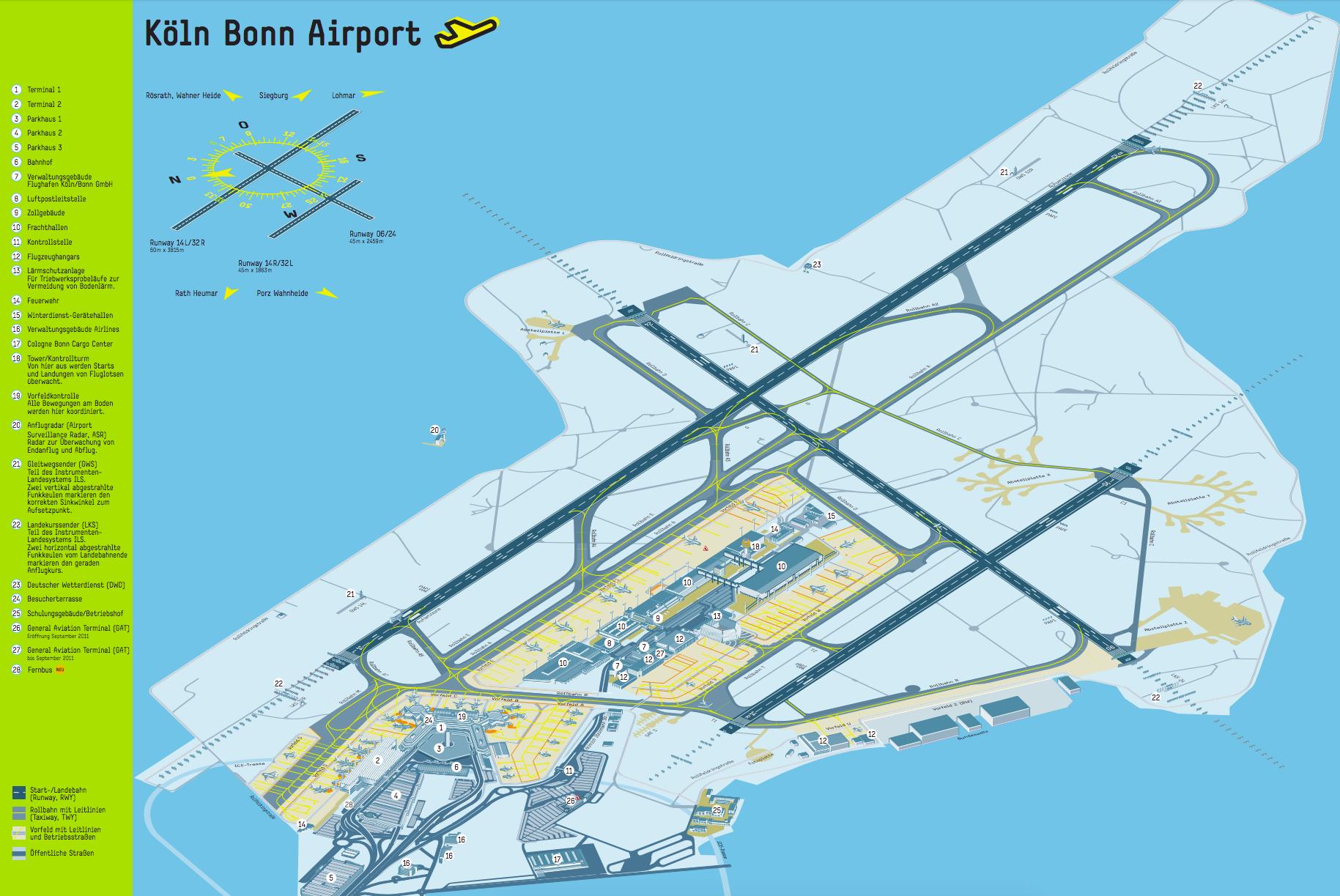 Bonn flughafen abflug koeln Corona Testcenter