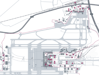 Flug Berlin Brandenburg - New York City - Karte Flughafen Berlin Brandenburg