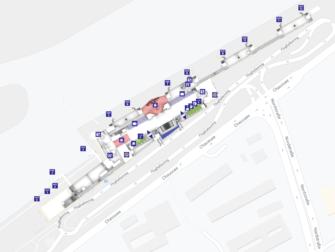 Flug Dortmund - New York City - Karte Flughafen Dortmund