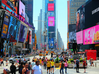 New York Reise Kosten - Times Square in New York