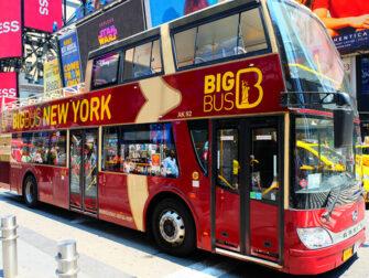 New York Wochenende - Big Bus