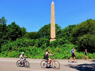 New York Wochenende - Fahrradfahren im Central Park