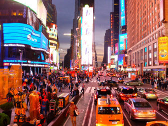 New York Wochenende - Times Square