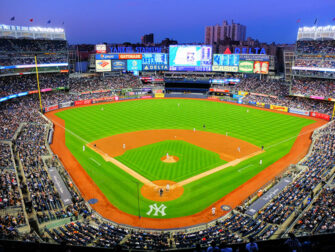 New York Wochenende - Yankees Spiel